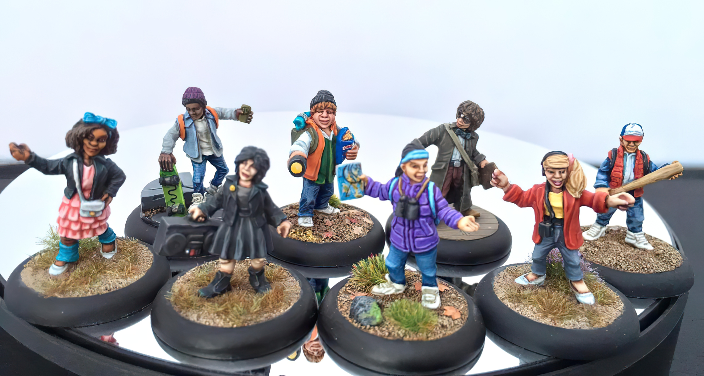 Morgue Miniatures 80s kids
