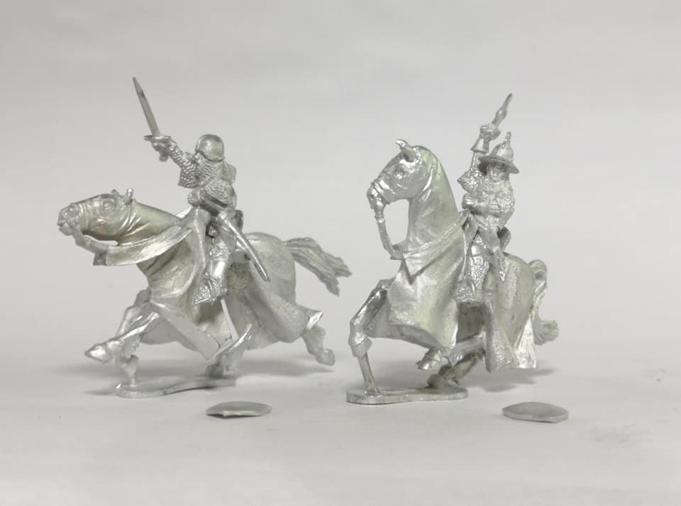 Mounted Knights #2 - Claymore Castings