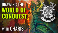 Heroes Of Conquest: Drawing The Art Of Para Bellum's Conquest #PathOfConquest