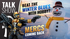 Cult Of Games XLBS: Mercs Coming Back & Beating The Winter Blues With Hobby!
