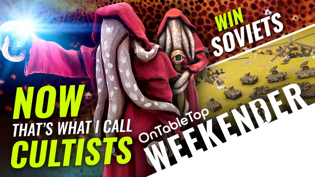 Stuck In Lockdown? WIN Vouchers In Our Leisure League! + Midlam Miniatures' Fantasy Cultists FTW!