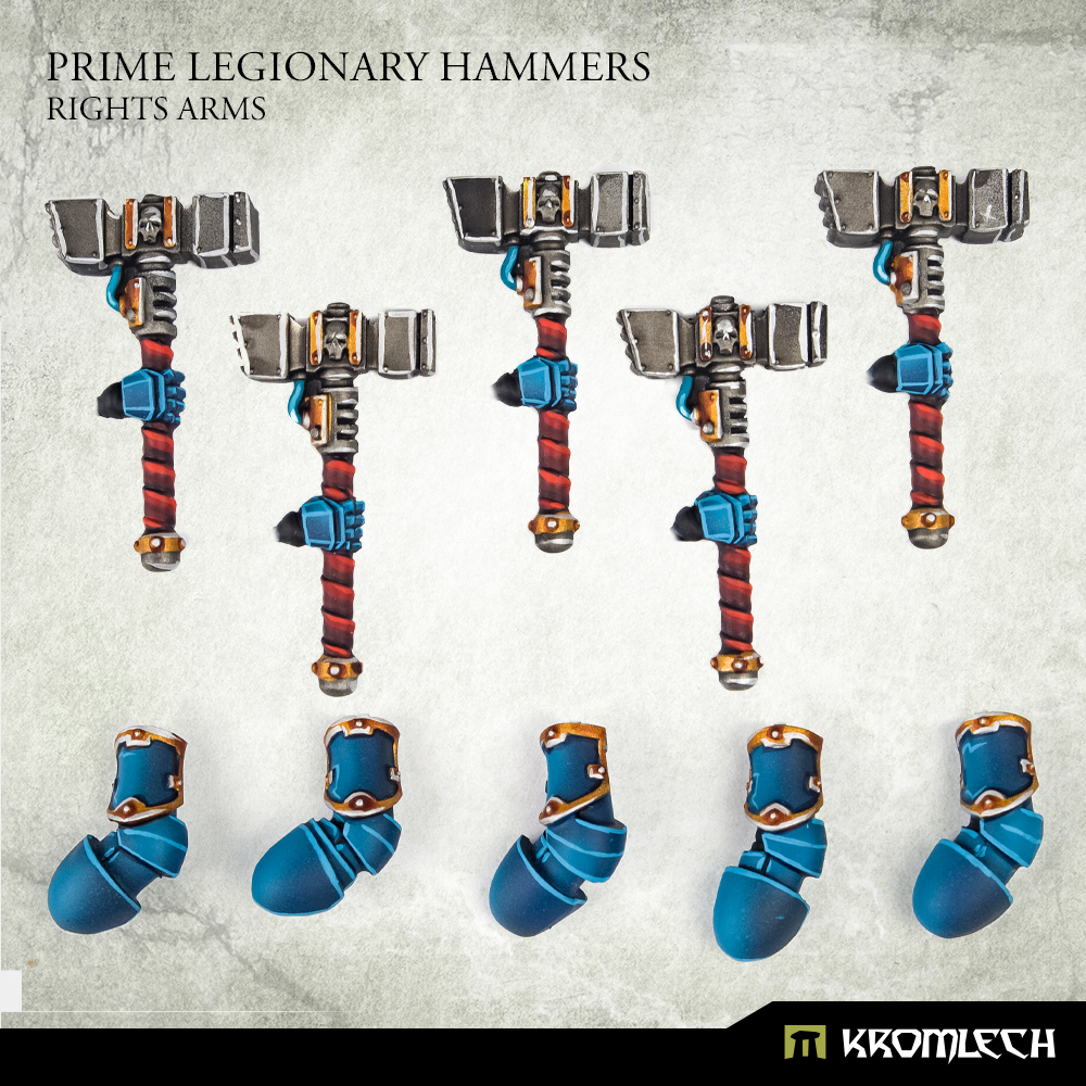 Prime Legionary Hammers Right Arm - Kromlech