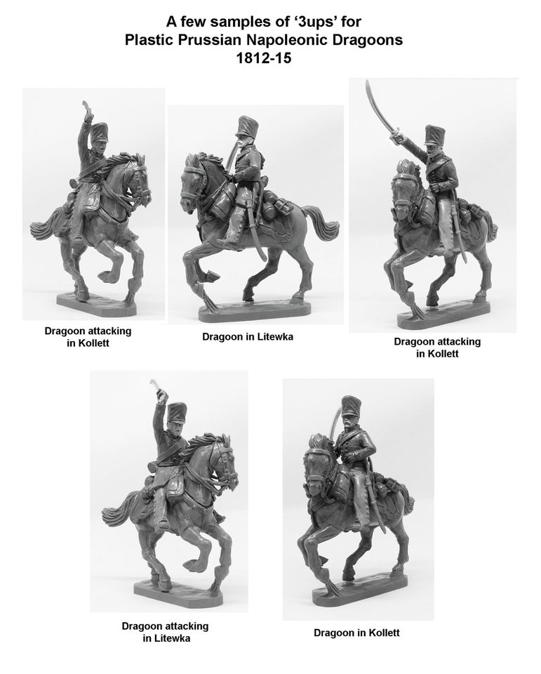 Prussian Napoleonic Dragoons - Perry Miniatures