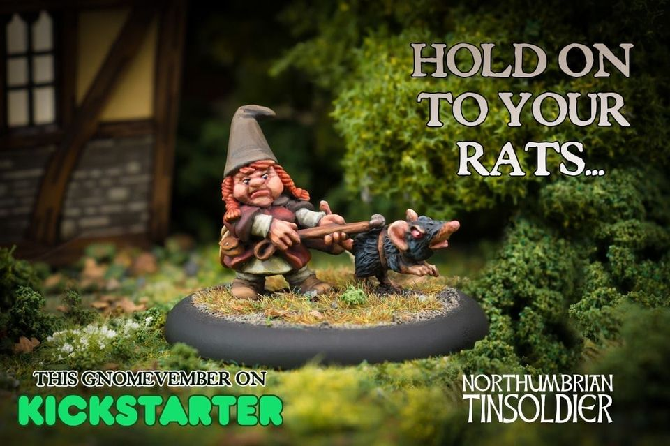 Rat Catcher - Northumbrian Tin Soldier