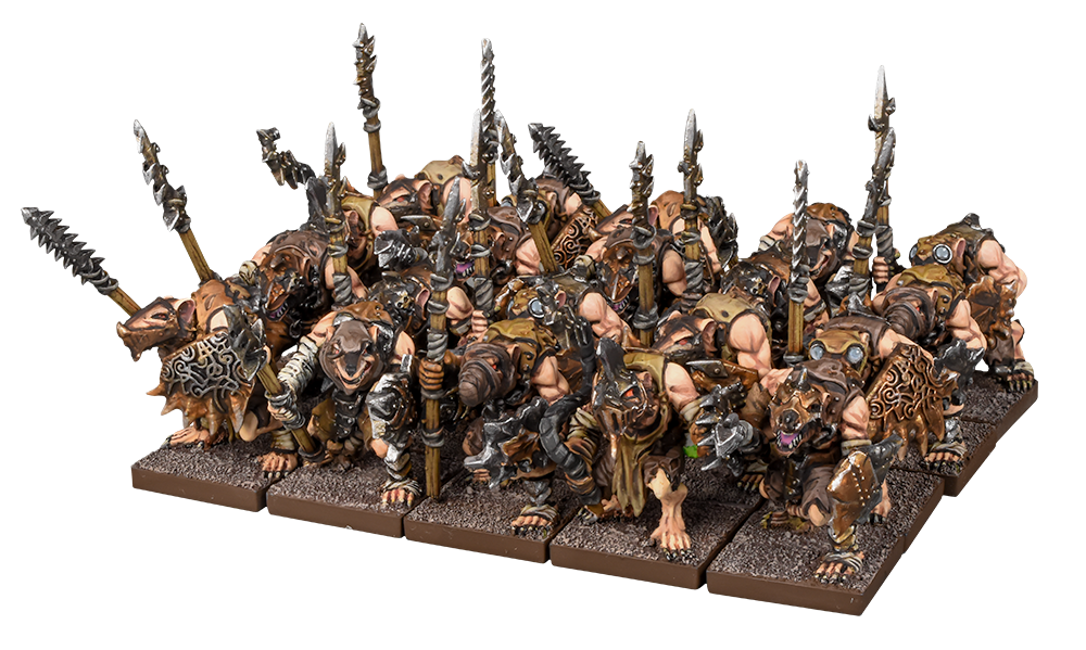 Ratkin With Spears - Kings Of War