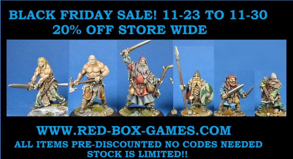Red Box Games - Black Friday