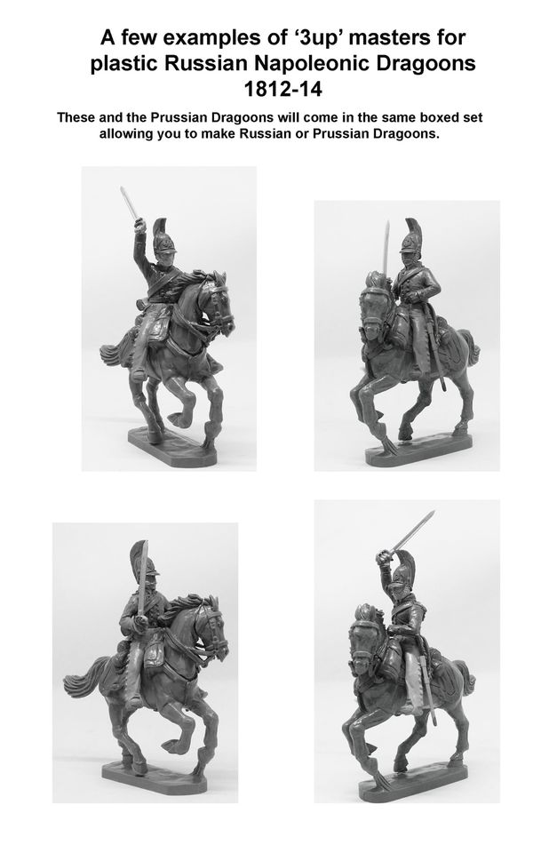 Russian Napoleonic Dragoons - Perry Miniatures