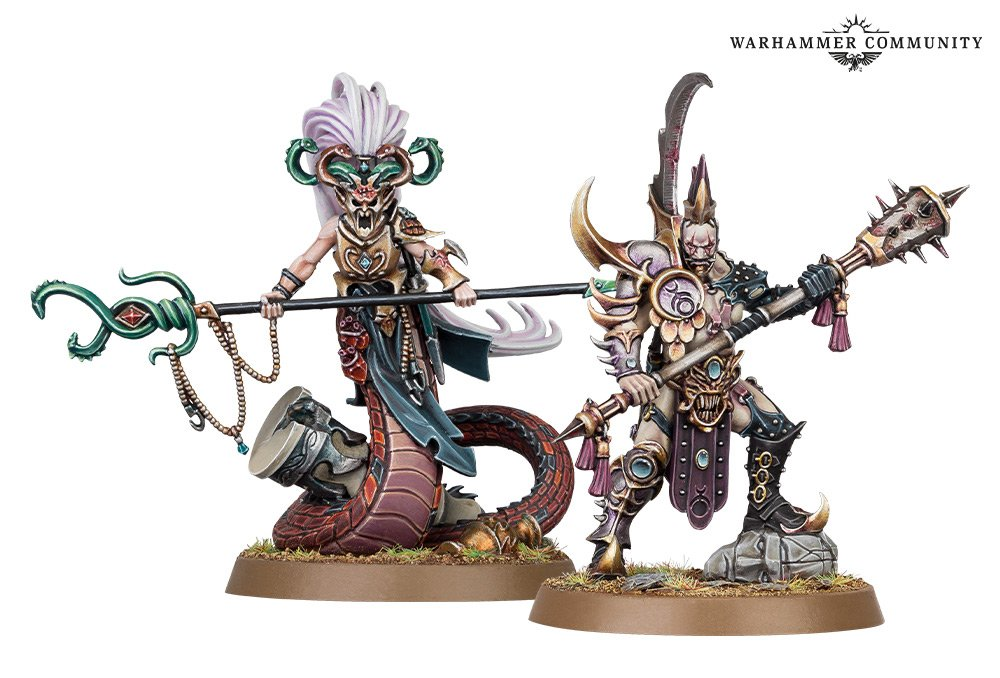 Shadow & Pain Exclusive Miniatures - Age Of Sigmar