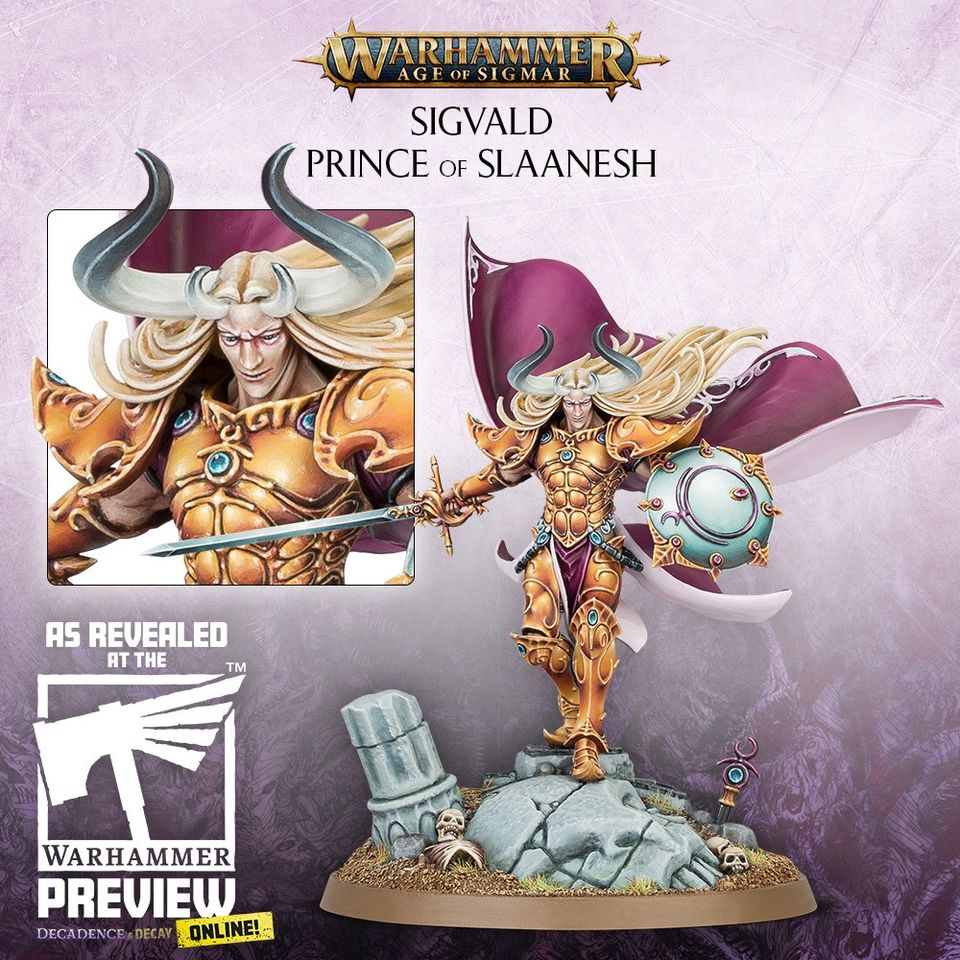Sigvald Prince Of Slaanesh - Age Of Sigmar