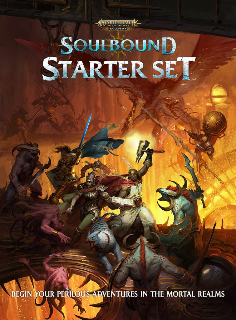 Soulbound Starter Set Cover - Cubicle 7