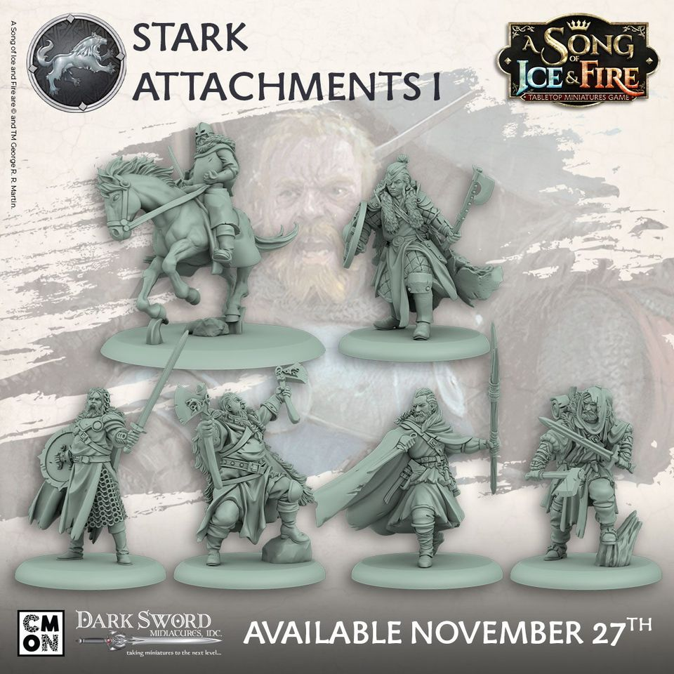 Stark Attachments - A Song Of Ice & Fire