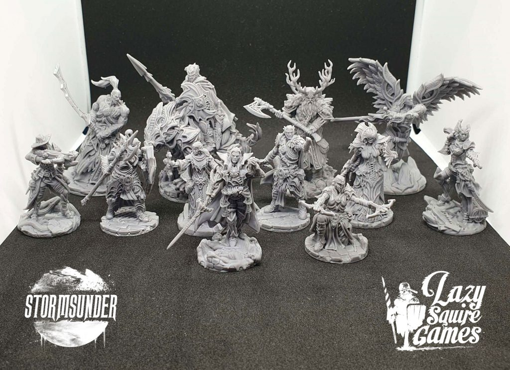 Stormsunder Master Miniatures - Lazy Squire Games