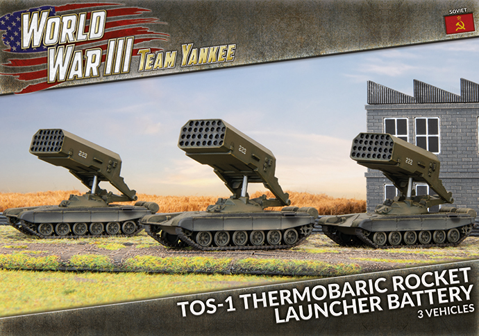 TOS-1 Thermobaric Rocket Launcher Battery - Team Yankee