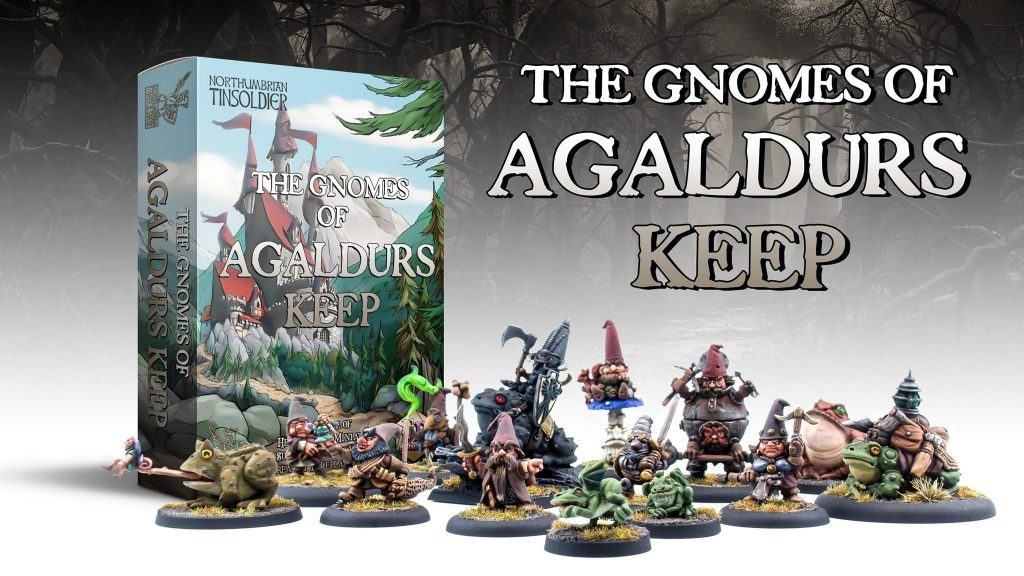The Gnomes Of Agaldurs Keep - Northumbrian Tin Soldier