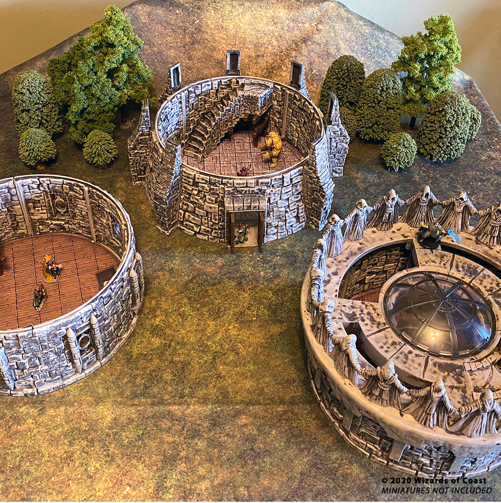 The Tower Components - WizKids