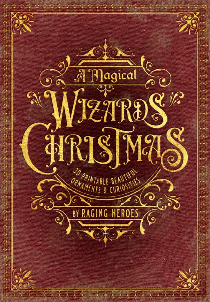 The Wizards Christmas Logo - Raging Heroes
