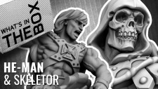 Unboxing: He-Man & Skeletor – Masters Of The Universe   Archon Studio