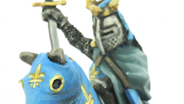 Saint Louis Rides Forth As A New Crusading Giant In Miniature