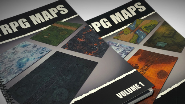 Deep-Cut Studio Release Two New RPG Map Books