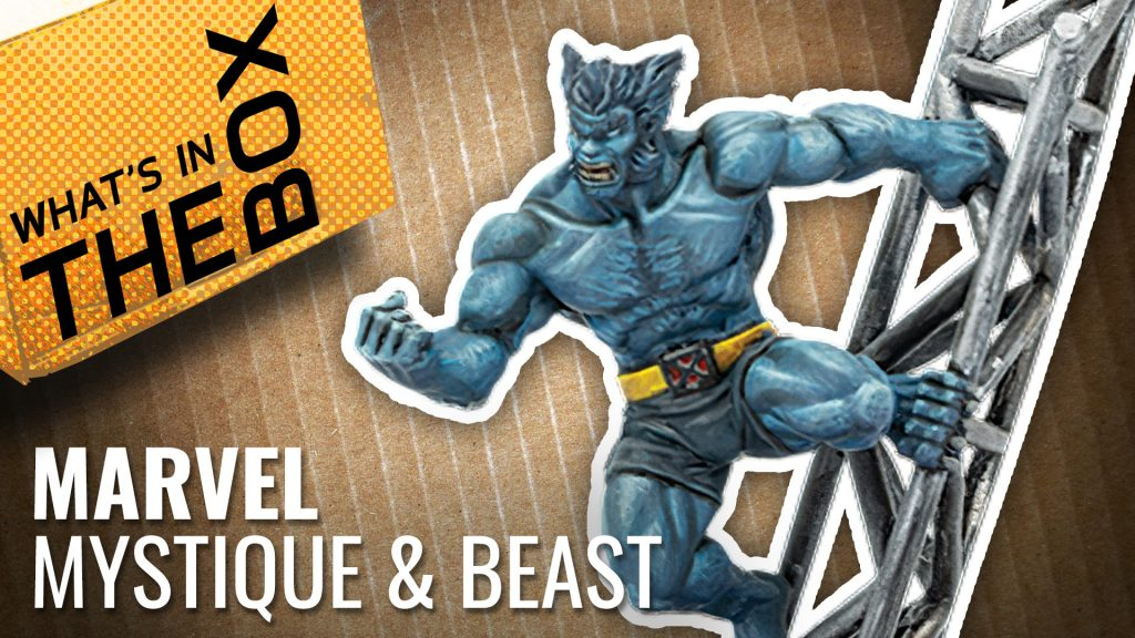Unboxing: Marvel Crisis Protocol - Mystique & Beast