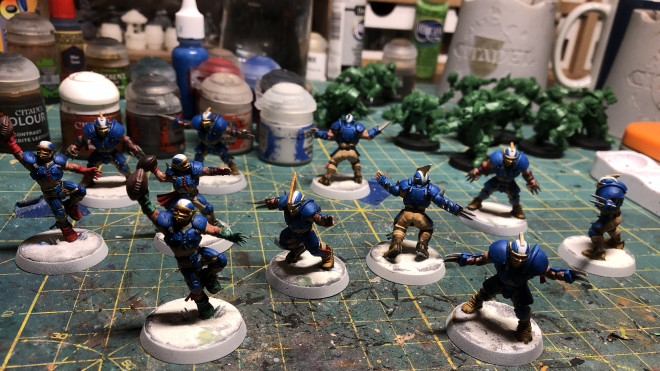 Painting the Reikland Reavers