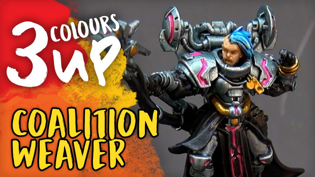 Warcaster Miniature Painting Tutorial - Coalition Weaver