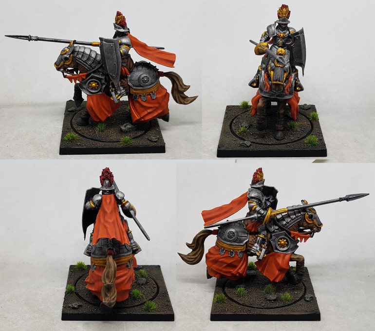 Rotational view of a Household knight