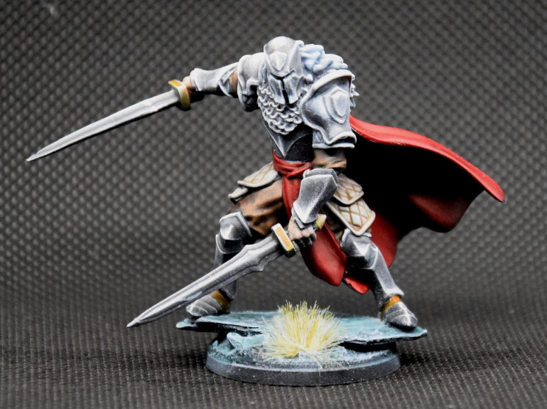 He'll look fine as a combat retinue. Thise picture helped me notice a few mistakes I need to fix.