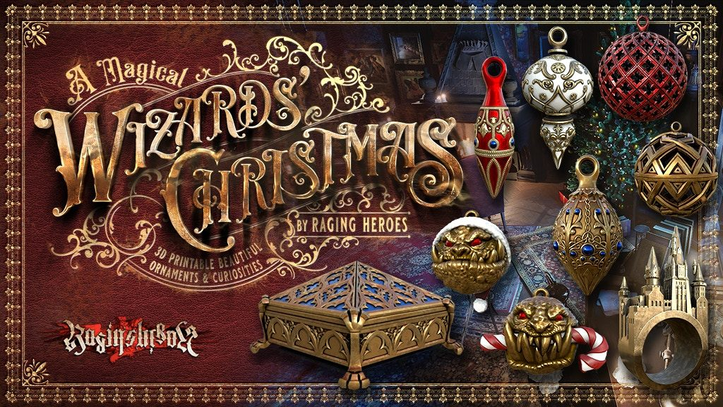 A Magical Wizards Christmas - Raging Heroes