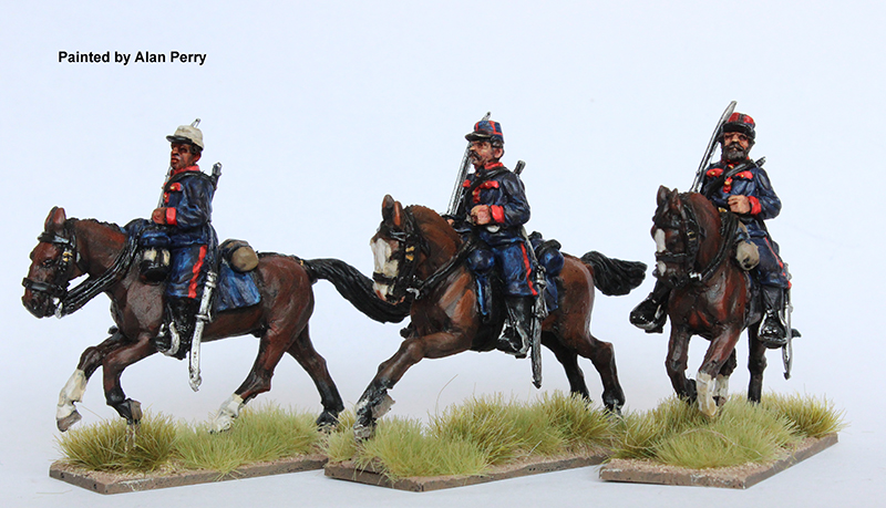 Argentine Cavalry Galloping - Perry Miniatures