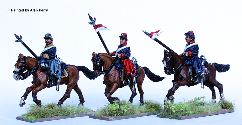 Argentine Lancers Galloping - Perry Miniatures