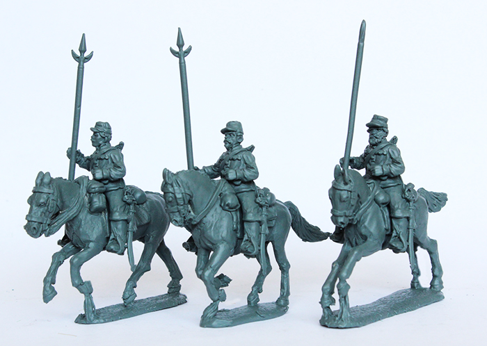 Argentine Lancers With Lances Raised - Perry Miniatures