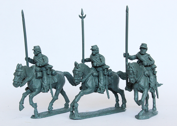 Brazilian Line Lancers Galloping - Perry Miniatures
