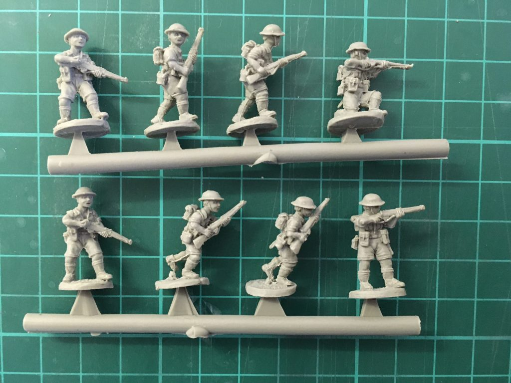 British 8th Army Platoon Examples - Plastic Soldier Company