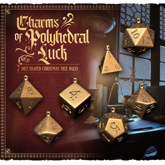 Charms Of Polyhedral Luck - Raging Heroes
