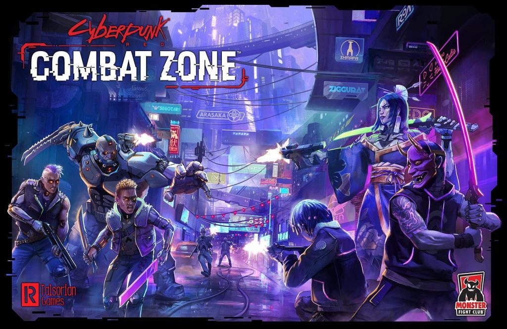 Cyberpunk Red Combat Zone - Monster Fight Club
