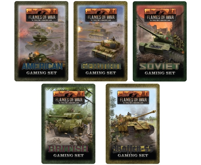 Gaming Tins - Flames Of War