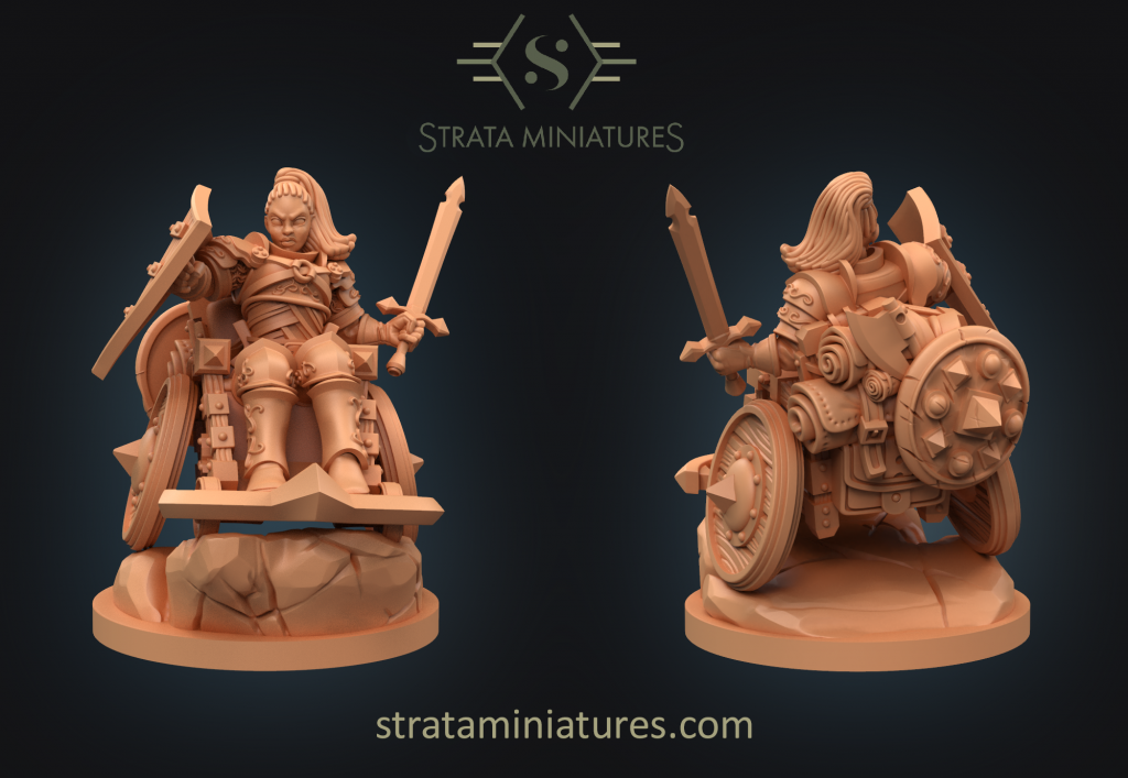 Human Fighter - Strata Miniatures