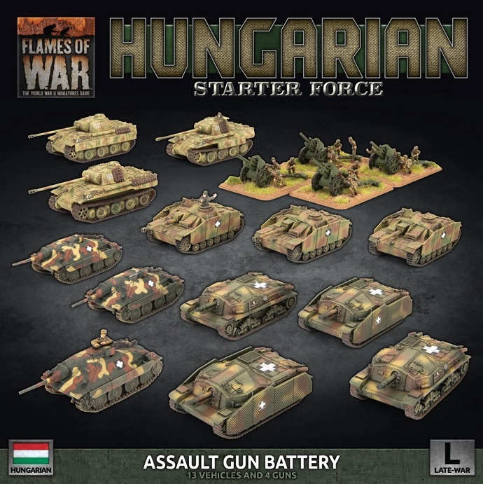 Hungarian Starter Force - Flames Of War