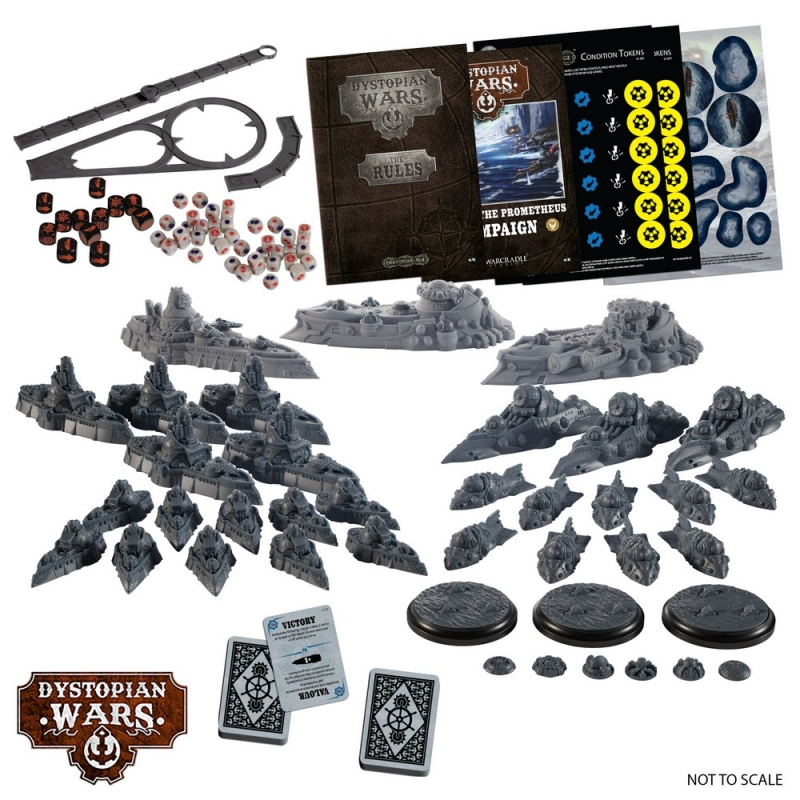 Hunt For The Prometheus Contents - Dystopian Wars