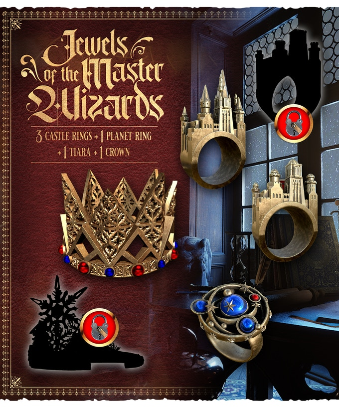 Jewels Of The Master Wizard - Raging Heroes