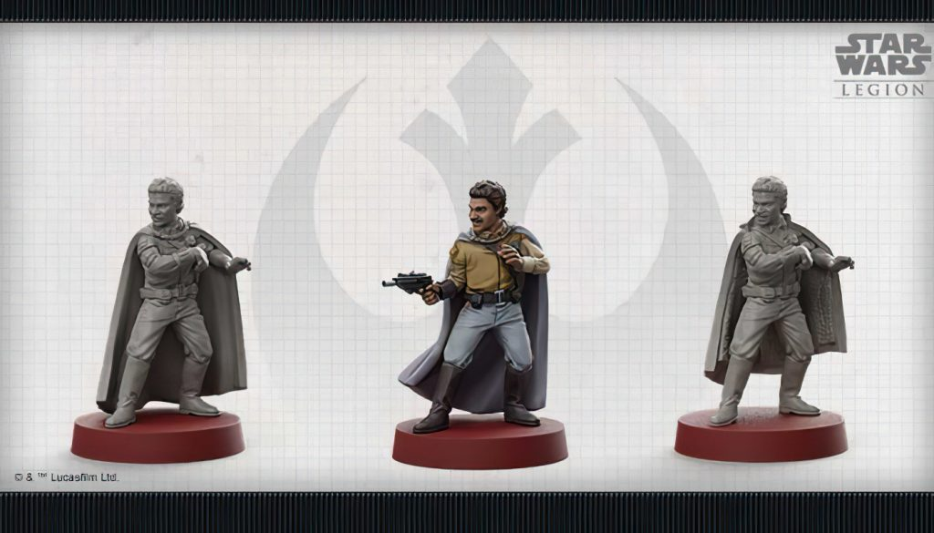 Lando Calrissian New - Star Wars Legion
