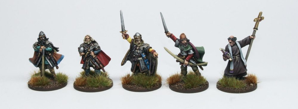 Late Saxon Characters - Footsore Miniatures & Games