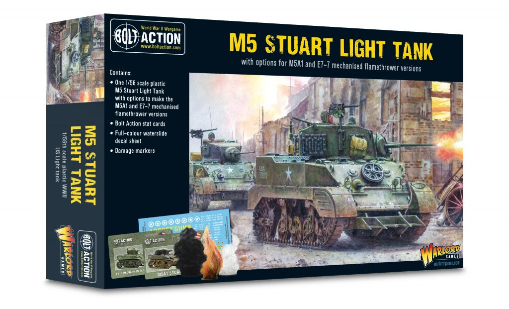 M5 Stuart Light Tank - Bolt Action