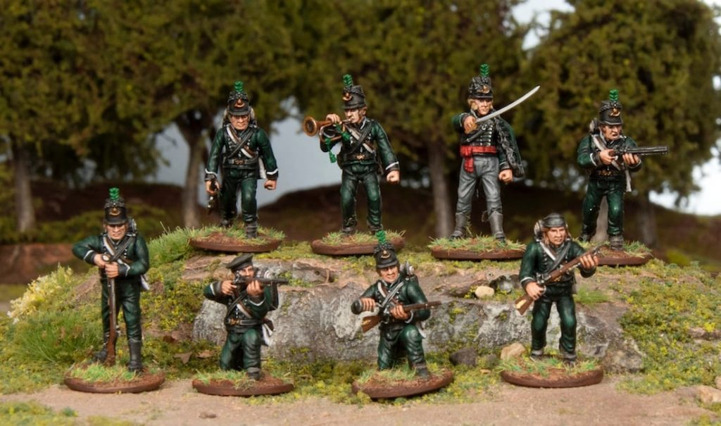 Napoleonic British Riflemen - Wargames Atlantic