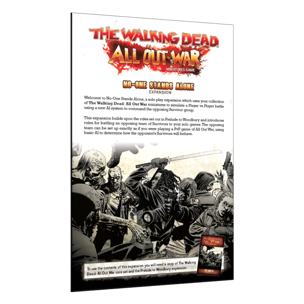 No-One Stands Alone Expansion - The Walking Dead