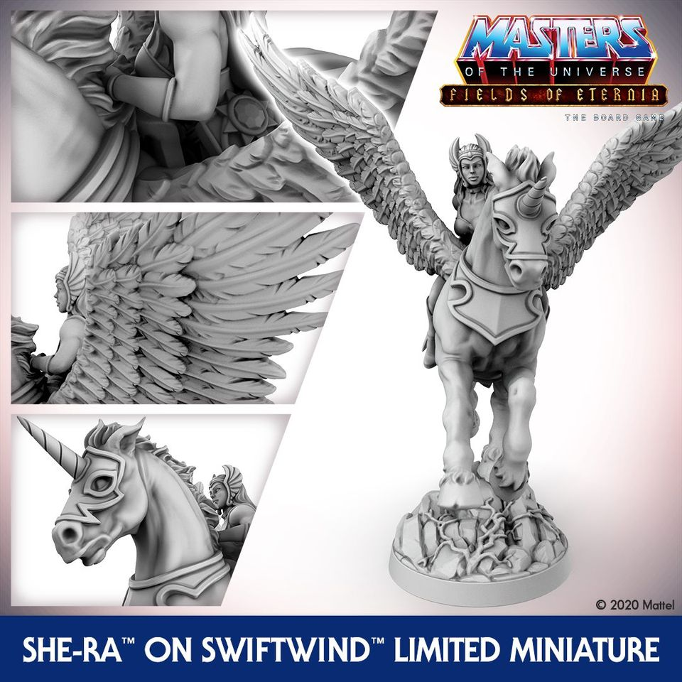 She-Ra On Swiftwind Detail - Archon Studio