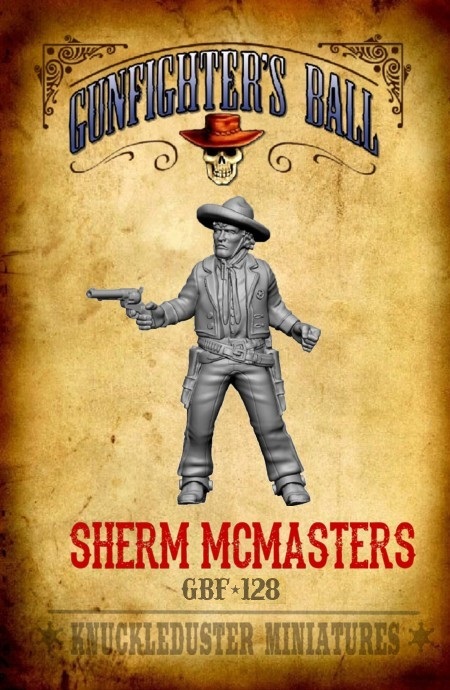 Sherm McMasters - Knuckleduster Miniatures
