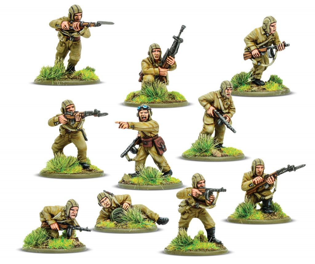 Soviet Airborne Squad - Bolt Action