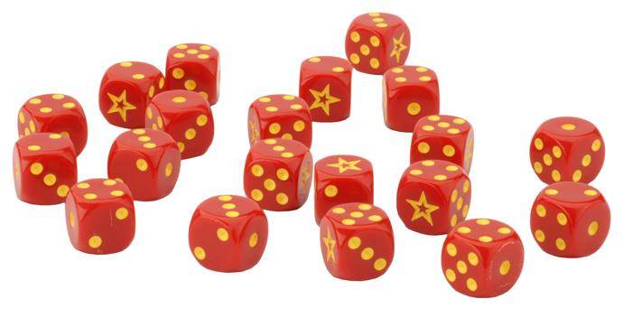 Soviet Dice - Team Yankee